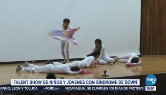 Niños con síndrome de Down montan espectáculo