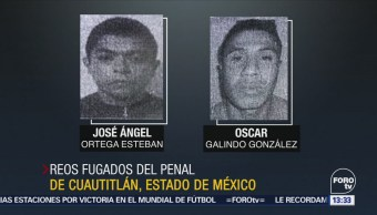 Fugan Tres Reos Penal Cuautitlán Edomex