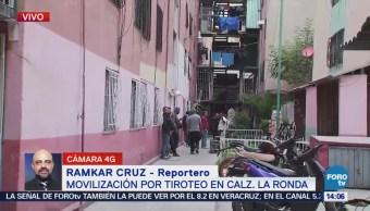 Reportan Movilización Policiaca Balacera Colonia Ex-Hipódromo Peralvillo