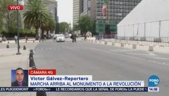 Arriba Marcha Monumento Revolución Cdmx