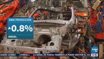 Producción Automotriz México Aumenta 0.8% Anual