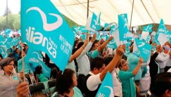 Nueva Alianza y Encuentro Social dan batalla por conservar registro