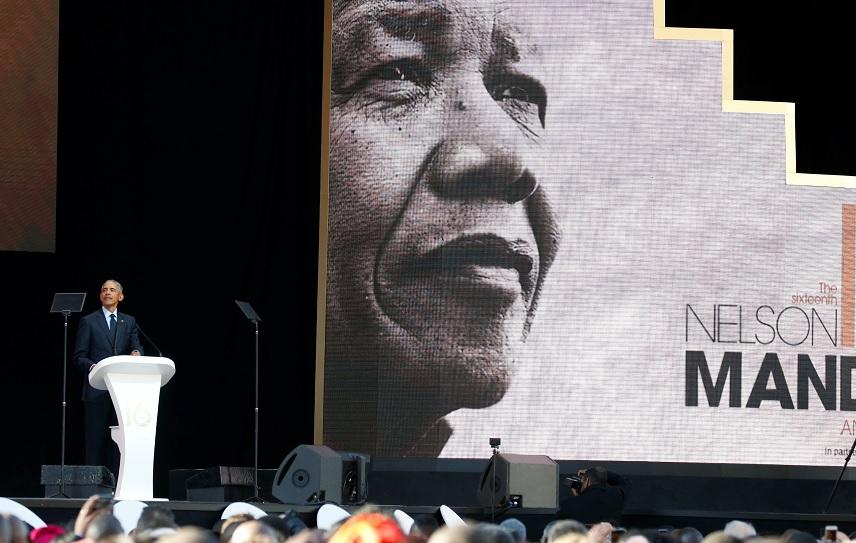 Obama parece reprender a Trump en conmemoración de Mandela ...