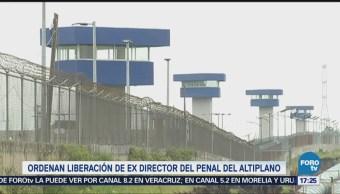 Obtiene Libertad Exdirector Penal Altiplano Valentín Cárdenas