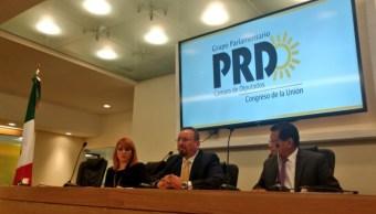Ratifican a Omar Ortega como coordinador del PRD en San Lázaro