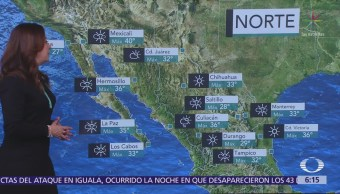 Onda tropical 15 y aire inestable ocasionarán lluvias en todo México