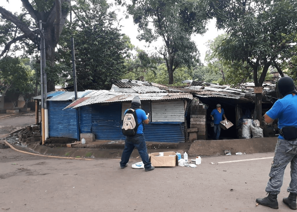 Paramilitares intensifican ataques en Masaya, Nicaragua. (@laprensa)