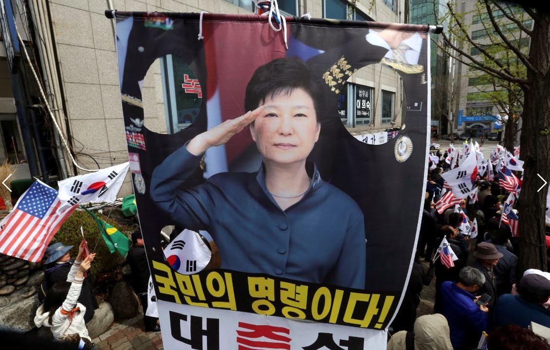 Condenada a otros ocho años de cárcel a Park Geun-hye