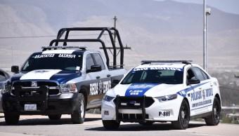 Paran labores policías Chihuahua asignados en Cd. Juárez