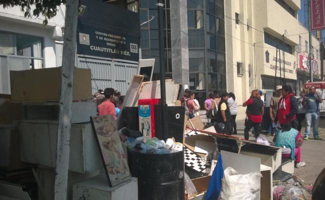 Denuncian abusos y corrupción en penal de Cauautitlán