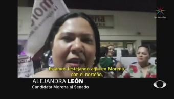 Candidata de Morena envía mensaje contrincantes