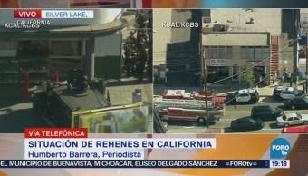 Persecución Policiaca California Estados Unidos,
