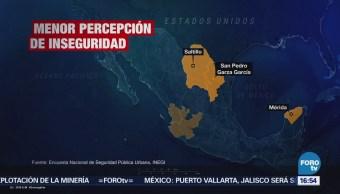 Persiste Sensación Inseguridad Entre Mexicanos INEGI