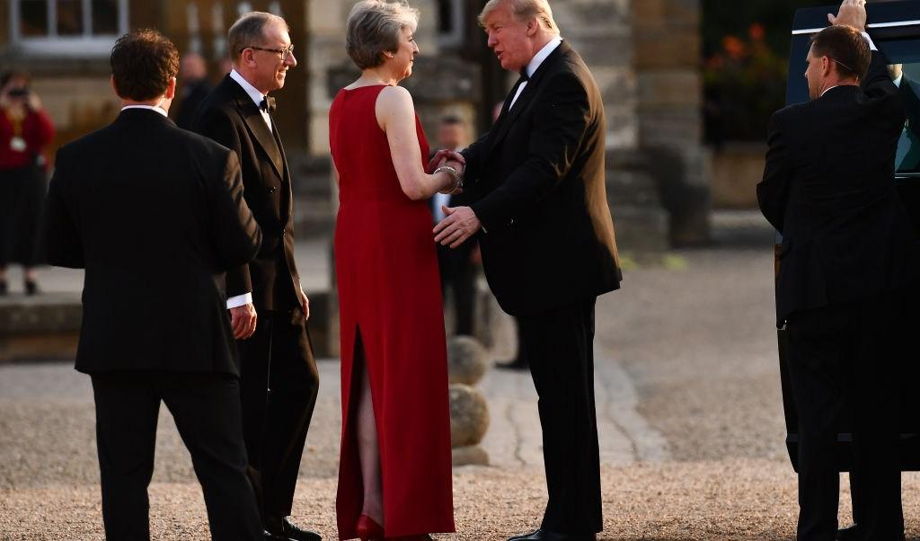 Plan May Brexit matar acuerdo comercial Estados Unidos Trump