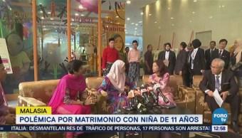 Polémica por matrimonio con niña de 11 años en Malasia