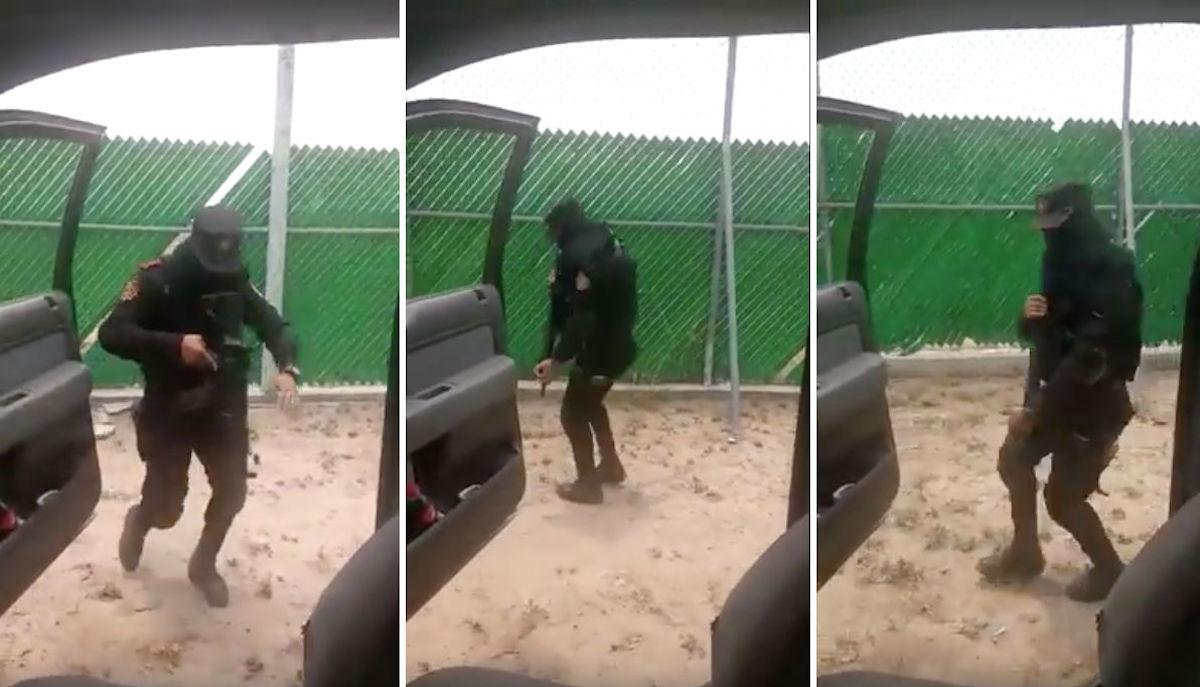 Chona-Challenge-Fuerza-Civil-Video-Viral-Policía