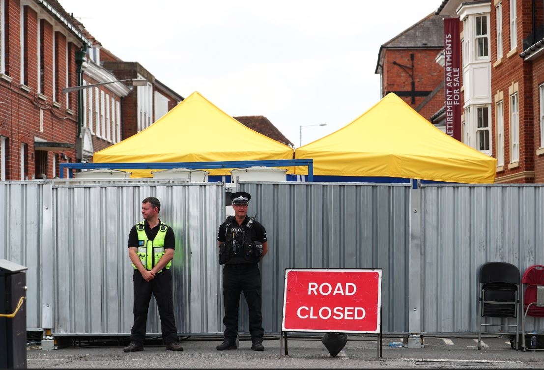 La policía británica identifica a sospechosos rusos del ataque con Novichok