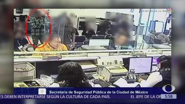 Policías detienen a asaltantes de cuentahabientes en la CDMX