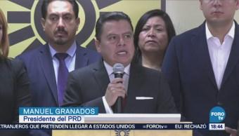 Prd Apoyará Iniciativas Presente López Obrador