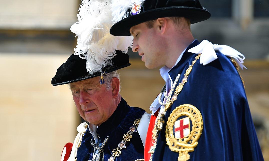 Príncipe Carlos y Guillermo quisieron reunirse Trump