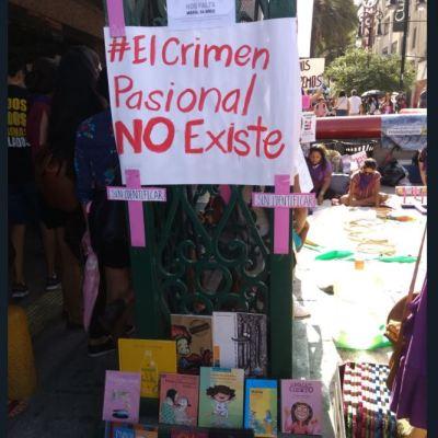 Protestan en Nuevo León para exigir cese de feminicidios