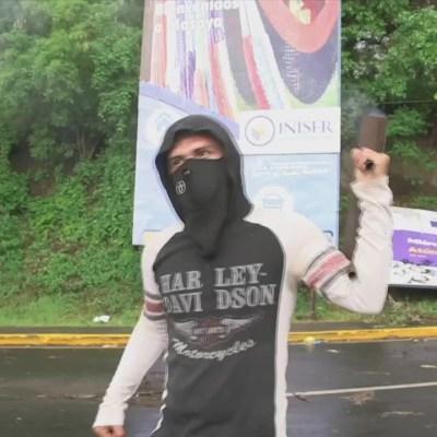 Protestas en Nicaragua cumplen tres meses