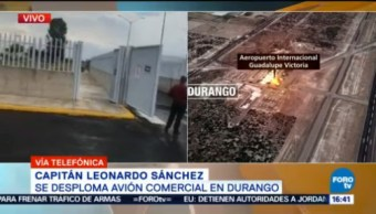 Protocolos Accidentes Aviones Capitán Leonardo Sánchez