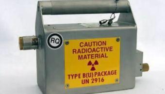 Localizan fuente radioactiva robada en la CDMX