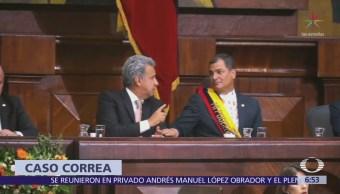 Rafael Correa niega corrupción durante su Gobierno