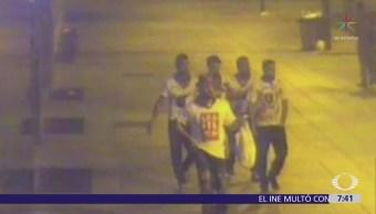 Ratifican en España libertad de integrantes de 'La Manada'