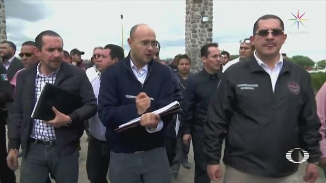 Realizan Peritajes Saucera Tultepec Explosión Edomex
