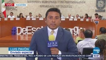 Reanuda sesión el Instituto Electoral de Yucatán
