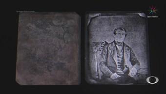 Recuperan dos imágenes de daguerrotipos de 1850