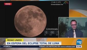 en espera del eclipse total de Luna