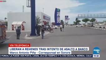 Reportan Grave Delincuente Tomó Rehenes Hermosillo