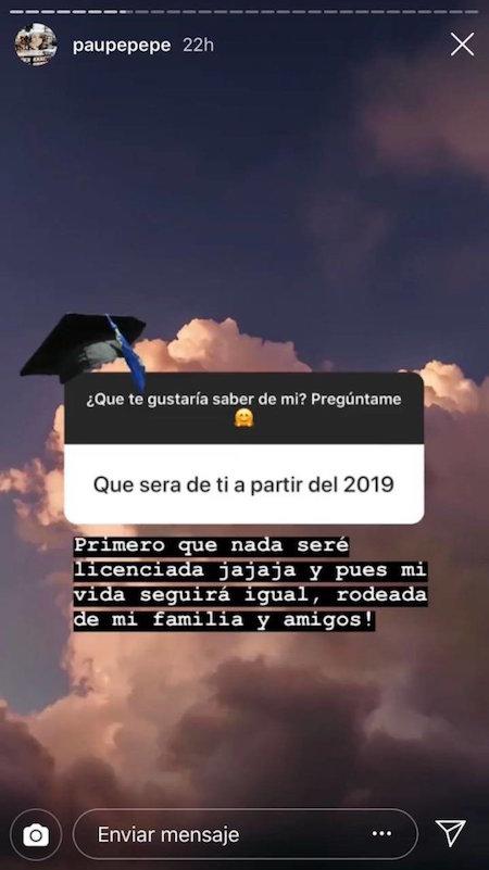 Hija de EPN manda consejo a los hijos de AMLO