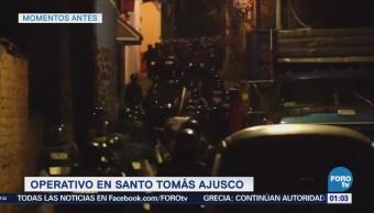 Retienen Presuntos Delincuentes Santo Tomás Ajusco