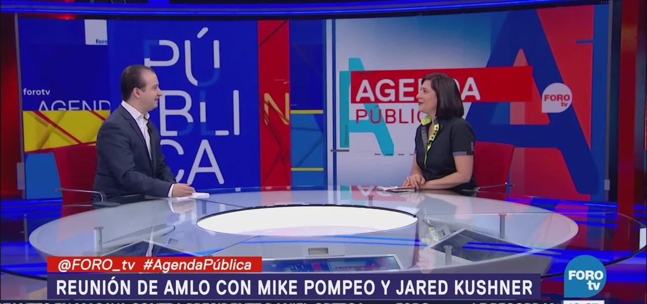 Reunión de AMLO con Mike Pompeo y