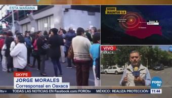 Revisan en Oaxaca varios inmuebles luego de sismo