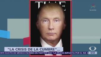 Revistas estadounidenses destacan en portadas