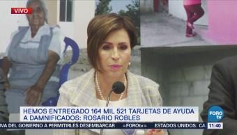 Robles: La reconstrucción es una realidad, luego del sismo de septiembre