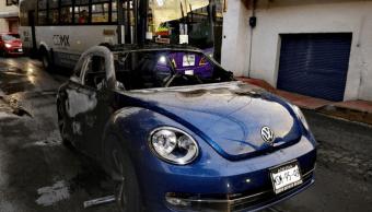 cuerpos calcinados auto xochimilco pgj cdmx