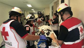 hospitalizadas accidente xochimilco topilejo carretera cdmx salud