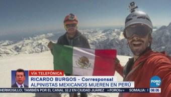 Hallan Cuerpos Alpinistas Mexicanos Perú