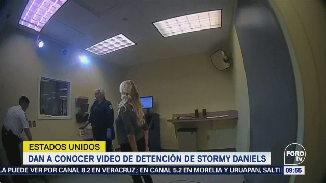 Difunden Video Arresto Actriz Porno Stormy Daniels