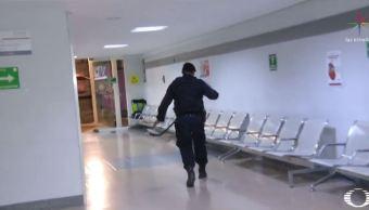 Saldo blanco en Hospital 20 de Noviembre por simulacro de bomba