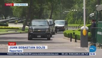 Sale Mike Pompeo de Los Pinos, luego de reunión Peña Nieto