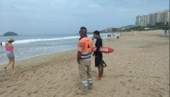 Suman cuatro turistas ahogados periodo vacacional Acapulco