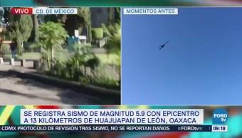Se normalizan actividades en la colonia Del Valle luego de sismo