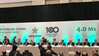Se reúne López Obrador con titulares de Concamin-1